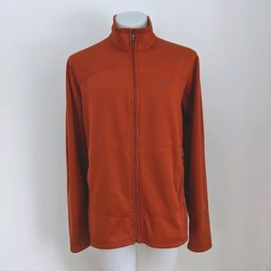 PATAGONIA R1 Full Zip Jacket, Burnt Orange, XL
